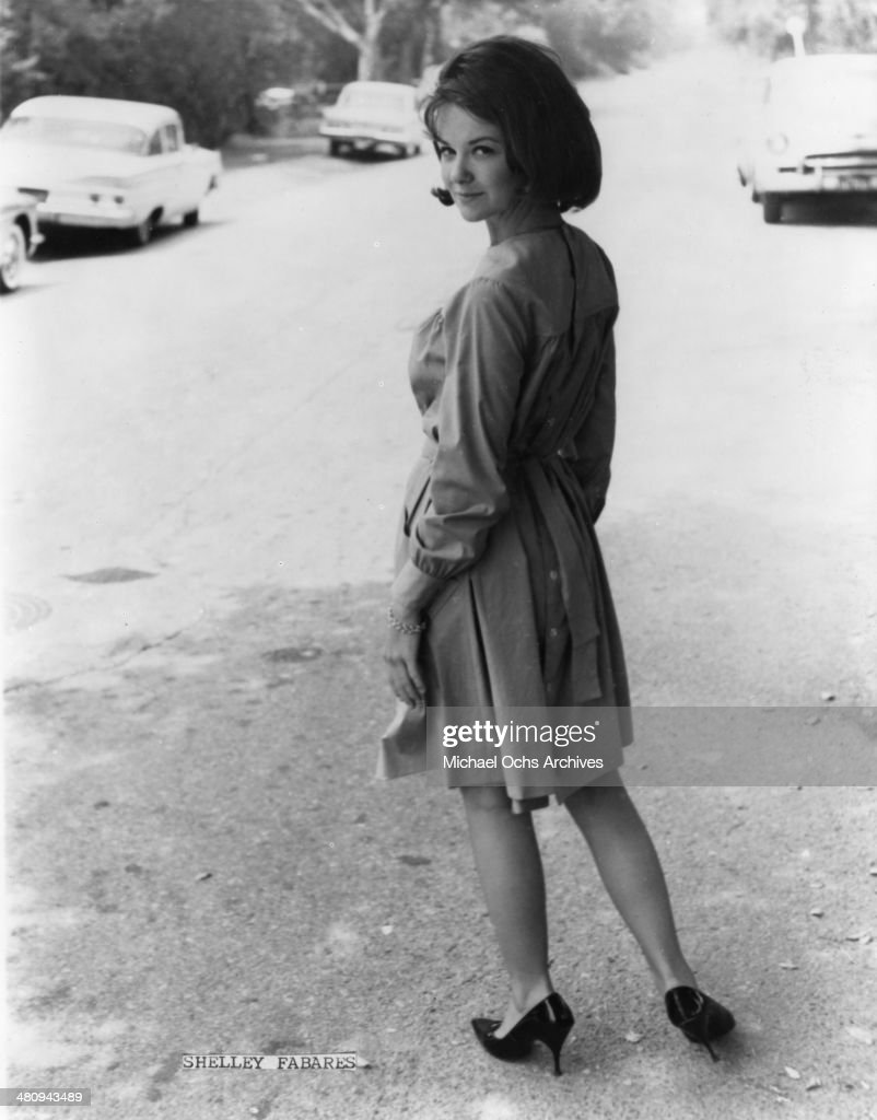 Entertainer Shelley Fabares poses for a portrait in circa 1965
