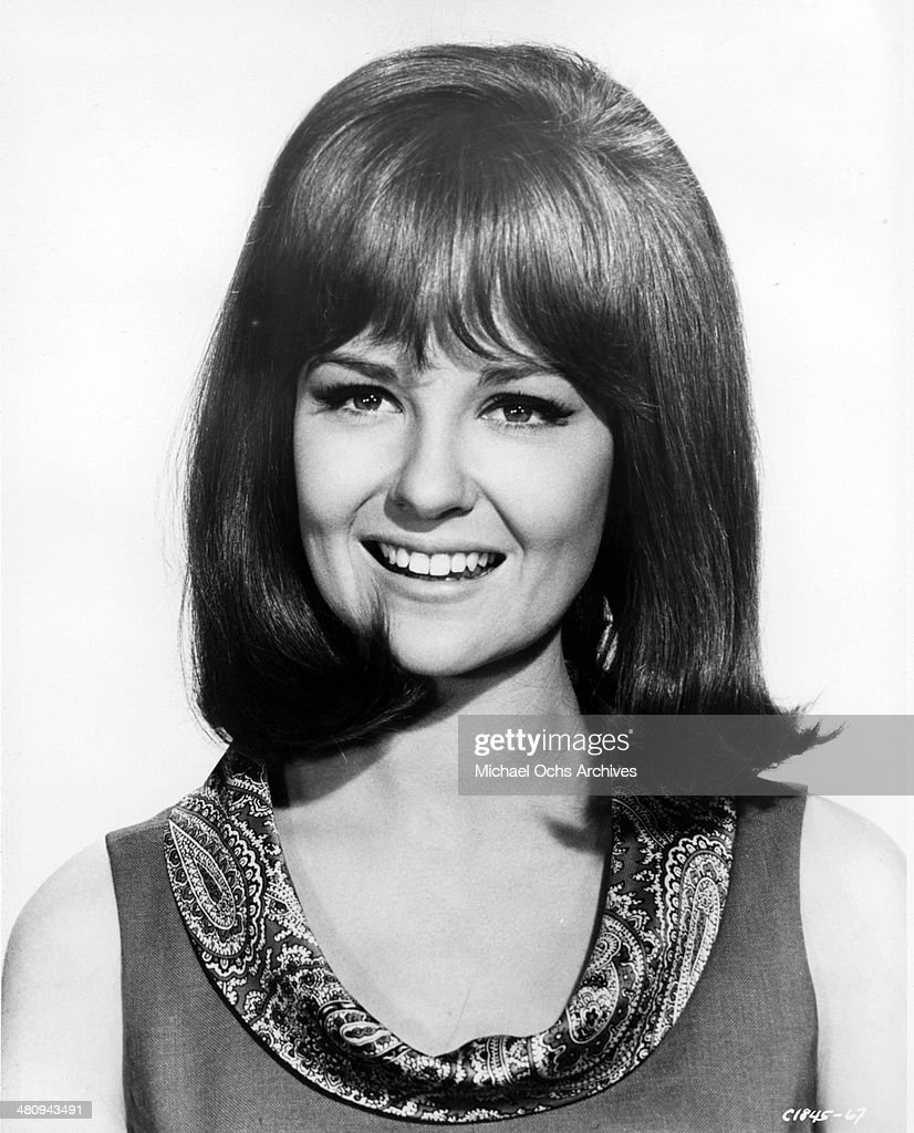 Entertainer Shelley Fabares poses for a portrait to promote the release of the movie 'Spinout' in which she disrupts Elvis's life in 1966