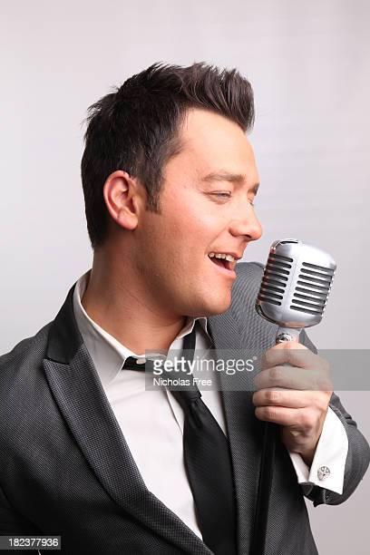 Entertainer chante Portrait