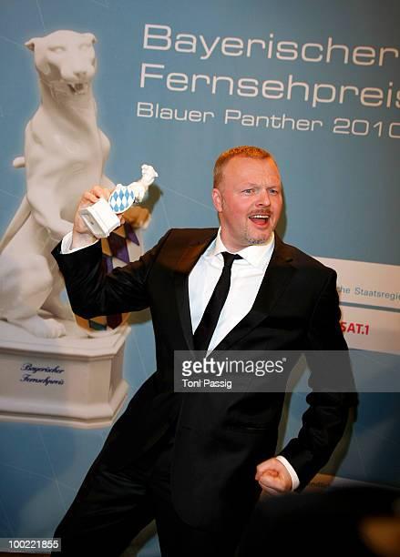 Entertainer Stefan Raab attends the Bayerischer Fernsehpreis 2010 at the Prinzregententheater on May 21 2010 in Munich Germany