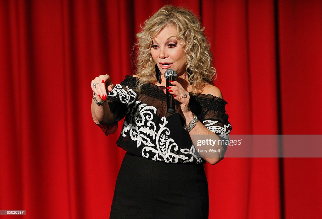 Entertainer Stella Parton speaks at the Stella Parton's Red Tent Women's Conference 2014 at the Doubletree Hotel Downtown on April 19, 2014 in Nashville, Tennessee.