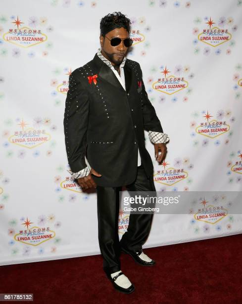 Entertainer Tyrone 'TFox' Fox attends the debut of 'Linda Suzanne Sings Divas of Pop' at the South Point Hotel Casino on October 15 2017 in Las Vegas...