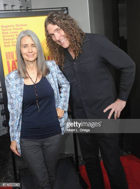 Entertainer Weird Al Yankovic and wife arrive for the Premiere Of Pantelion Films' 'How To Be A Latin Lover' held at ArcLight Cinemas Cinerama Dome...
