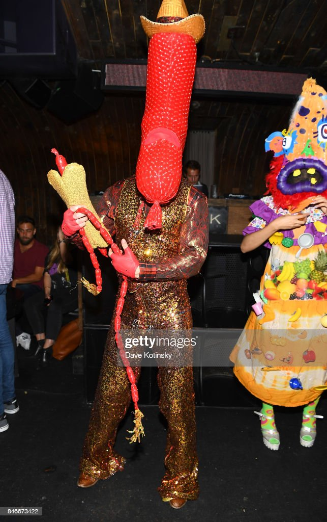 Entertainers dance during the 'Worth It' party presented by Buzzfeed at 1 Oak on September 13, 2017 in New York City.