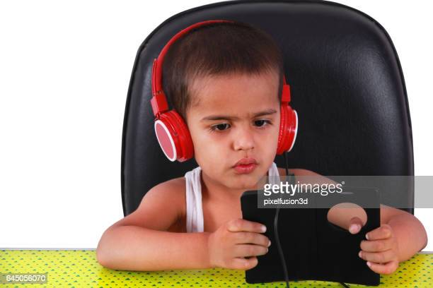 Entertaining with listening by using Smartphone