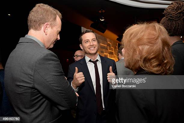 NBC Entertainment chairman Robert Greenblatt actor Jesse Lee Soffer and Executive Producer Danielle Gelber attend the premiere party for NBC's...