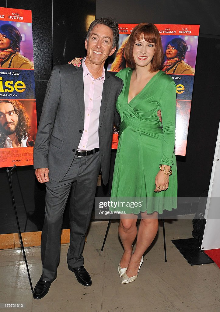 Entertainment Chief Acquisitions Officer Bill Bromiley and director <a gi-track='captionPersonalityLinkClicked' href=/galleries/search?phrase=Diablo+Cody&family=editorial&specificpeople=4482845 ng-click='$event.stopPropagation()'>Diablo Cody</a> arrive at the premiere of DirecTV's 'Paradise' at Mann Chinese 6 on August 6, 2013 in Los Angeles, California.