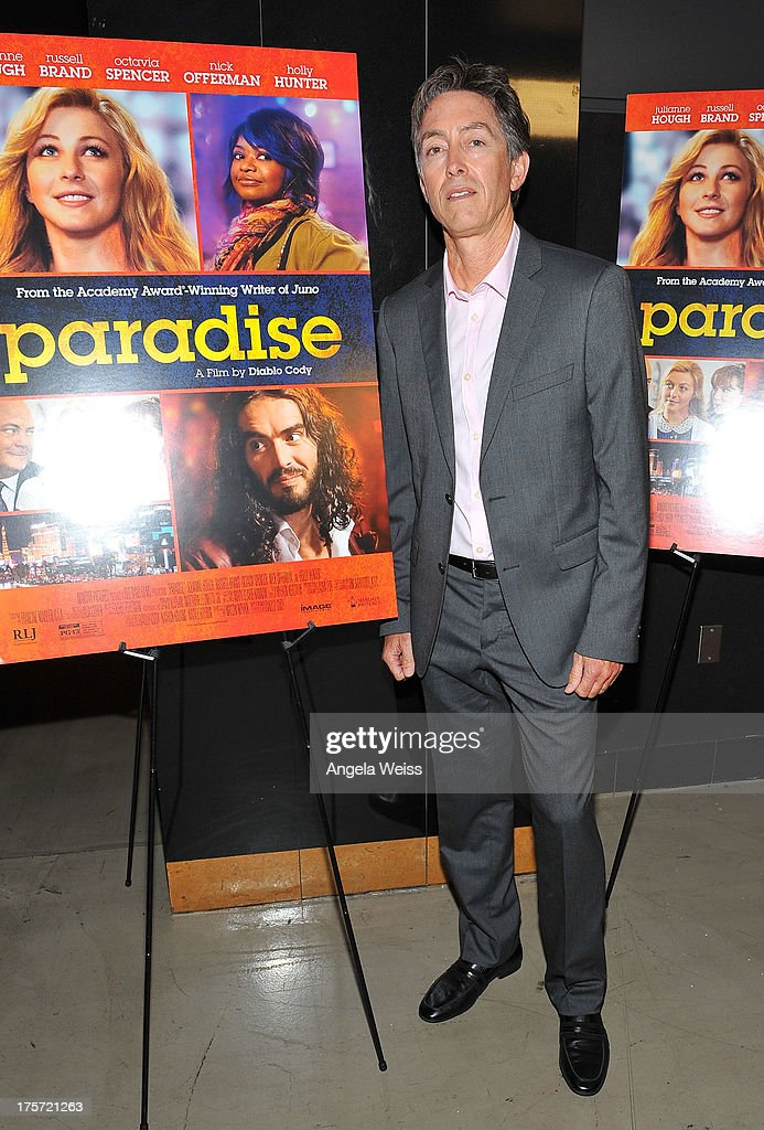 Entertainment Chief Acquisitions Officer Bill Bromiley arrives at the premiere of DirecTV's 'Paradise' at Mann Chinese 6 on August 6, 2013 in Los Angeles, California.