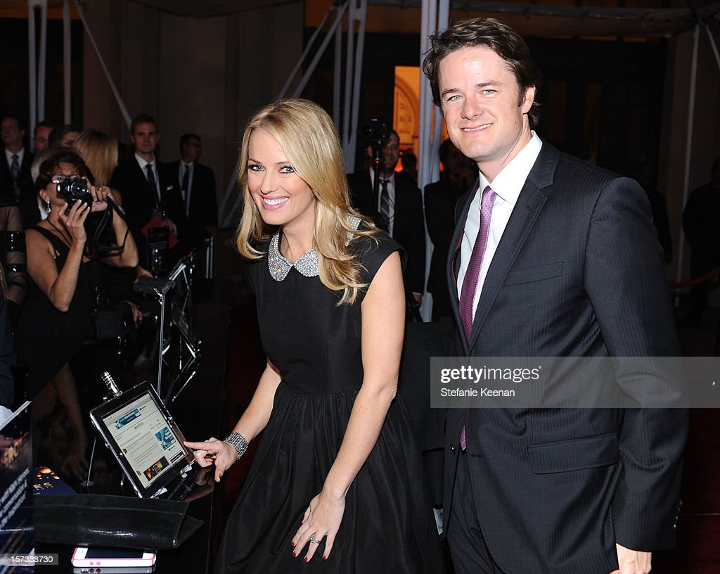 CNN Entertainment Correspondent Brooke Anderson and James Walker III attend the CNN Heroes: An All Star Tribute at The Shrine Auditorium on December 2, 2012 in Los Angeles, California. 23046_004_SK_0456.JPG