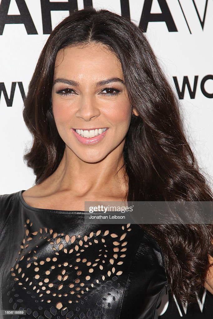 Entertainment correspondent Terri Seymour attends the Dahlia Wolf Launch Party at Graffiti Cafe on October 22, 2013 in Los Angeles, California.