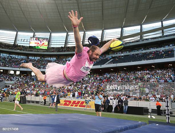 Entertainment during day 2 of the HSBC Cape Town Sevens in the final game between South Africa and Argentina at Cape Town Stadium on December 13 2015...