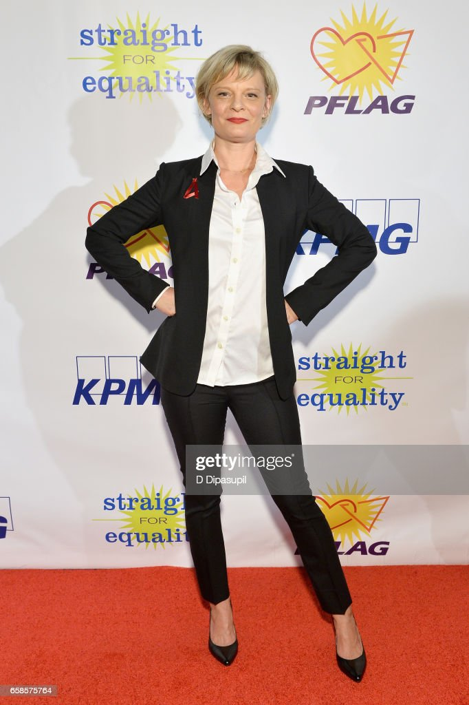 Entertainment Honoree, actress Martha Plimpton attends the ninth annual PFLAG National Straight for Equality Awards Gala on March 27, 2017 in New York City.