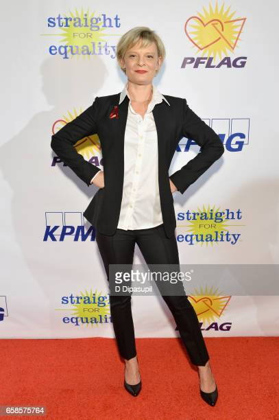 Entertainment Honoree actress Martha Plimpton attends the ninth annual PFLAG National Straight for Equality Awards Gala on March 27 2017 in New York...