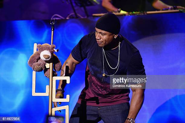 Entertainment icon LL Cool J performs inside the Wolf Den at Mohegan Sun as part of the property's 20th Anniversary celebration at Mohegan Sun on...