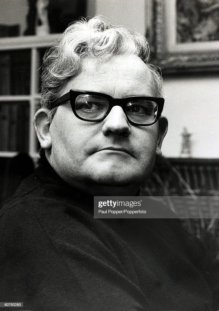 May 1971 Ronnie Barker English comedy actor born 1929 pictured at his home Ronnie Corbett one of Britain's most popular comedians in television shows...