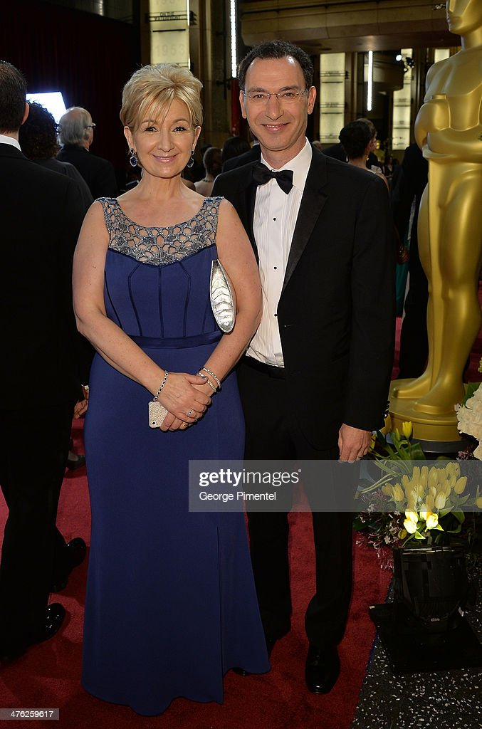 ABC Entertainment President Paul Lee and wife Deirdre Lee attends the Oscars held at Hollywood & Highland Center on March 2, 2014 in Hollywood, California.