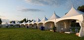Entertainment tents.