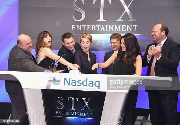 COO STX Entertainment Thomas B McGrath actress Kathryn Hahn CFO STX Entertainment Rich Sullivan President STX Entertainment Sophie Watts Chairman CEO...