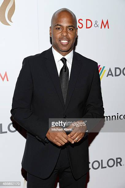 Entertainment Tonight cohost Kevin Frazier attends the 8th Annual ADCOLOR Awards at The Beverly Hilton Hotel on September 20 2014 in Beverly Hills...