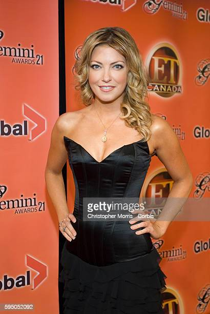 Entertainment TonightCanada host Cheryl Hickey attends the 21st annual Gemini Awards in Vancouver