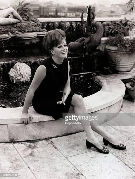 Entertainment/Cinema 5th November 1967 Swedish actress Anita Ekberg pictured in London