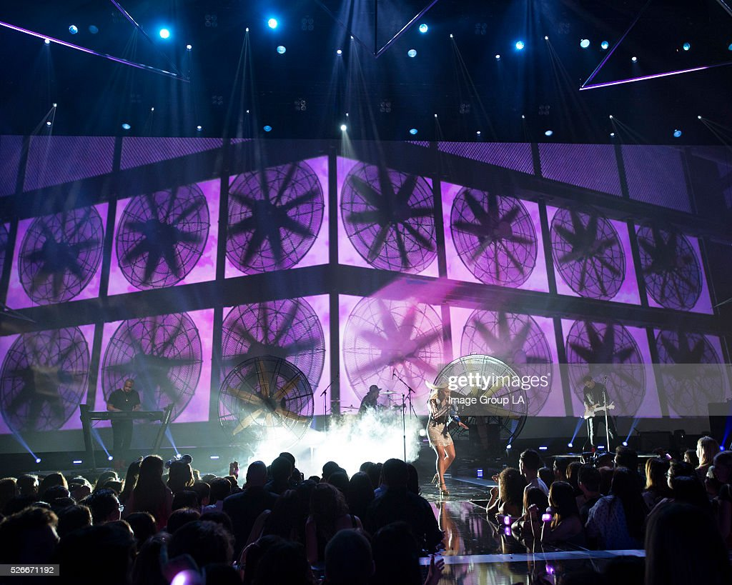 AWARDS - Entertainment's brightest young stars turned out for the 2016 Radio Disney Music Awards (RDMA), music's biggest event for families, at Microsoft Theater in Los Angeles on Saturday, April 30. 'Disney Channel Presents the 2016 Radio Disney Music Awards' airs Sunday, May 1 (7:00 p.m. EDT). ZARA
