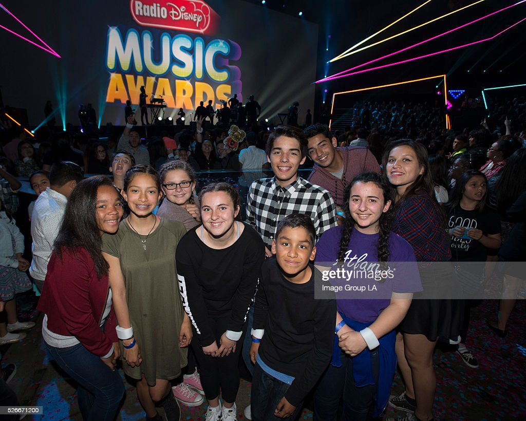 AWARDS - Entertainment's brightest young stars turned out for the 2016 Radio Disney Music Awards (RDMA), music's biggest event for families, at Microsoft Theater in Los Angeles on Saturday, April 30. 'Disney Channel Presents the 2016 Radio Disney Music Awards' airs Sunday, May 1 (7:00 p.m. EDT).