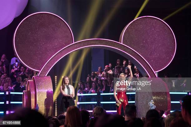 AWARDS Entertainment's brightest young stars turned out for the 2017 Radio Disney Music Awards music's biggest event for families at Microsoft...