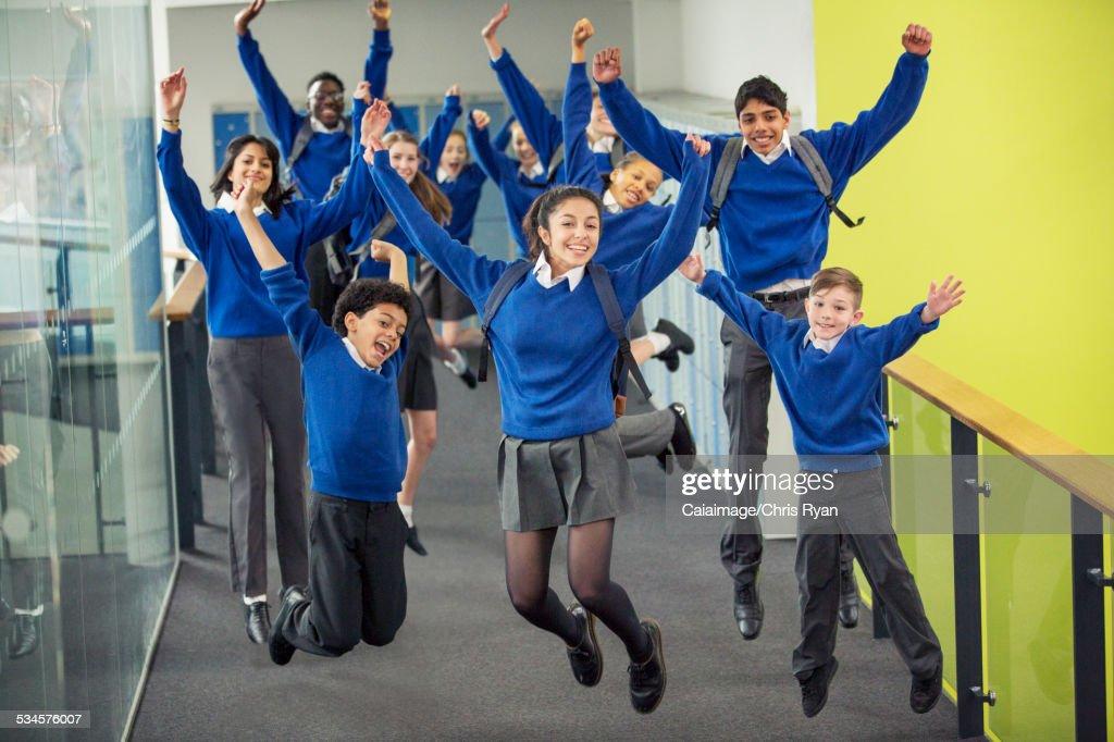 Students Wearing Uniform 119
