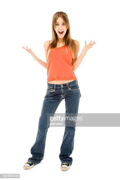 Enthusiastic Teen