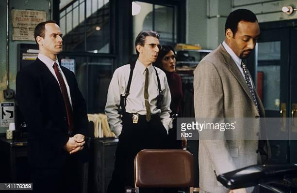 LAW ORDER 'Entitled' Episode 14 Air Date Pictured Christopher Meloni as Police Detective Elliott Stabler Richard Belzer Detective John Munch Katy...