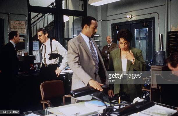 LAW ORDER 'Entitled' Episode 14 Air Date Pictured Christopher Meloni as Police Detective Elliott Stabler Richard Belzer Detective John Munch Jesse L...