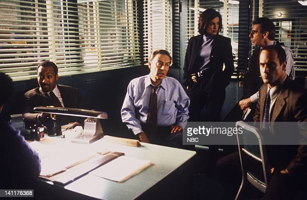 LAW ORDER 'Entitled' Episode 14 Air Date Pictured Jesse L Martin as Detective Ed Green Jerry Orbach as Detective Lennie Briscoe Katy Selverstone as...