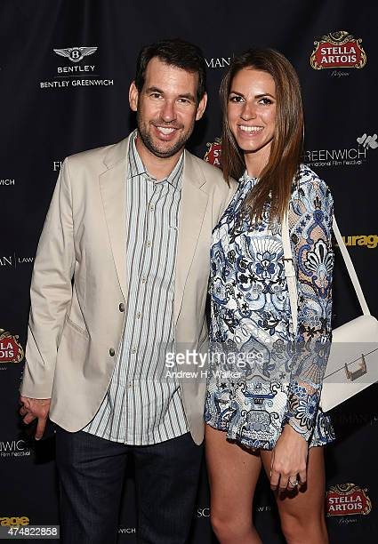 'Entourage' creator and GIFF board member Doug Ellin and Maddie Diehl attend the Greenwich Film Festival Special Screening of Entourage reception on...