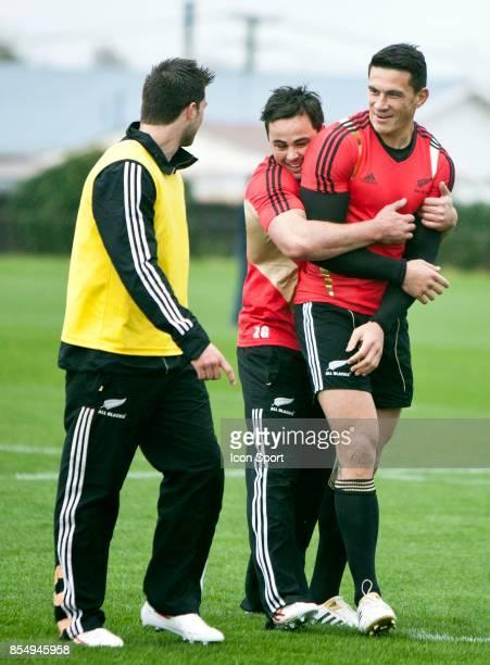 ENtrainement des All Blacks Sonny Bill WILLIAMS Coupe du Monde de Rugby 2011