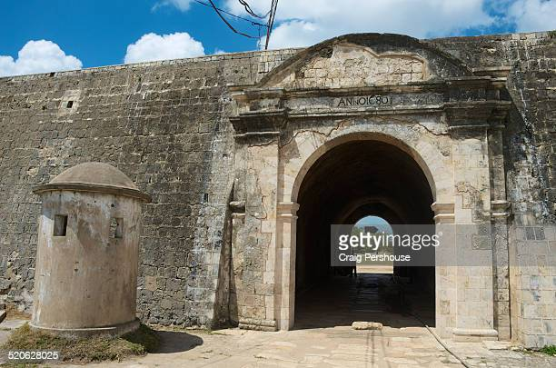 Entrance gate to Jaffna Fort, built in 1680