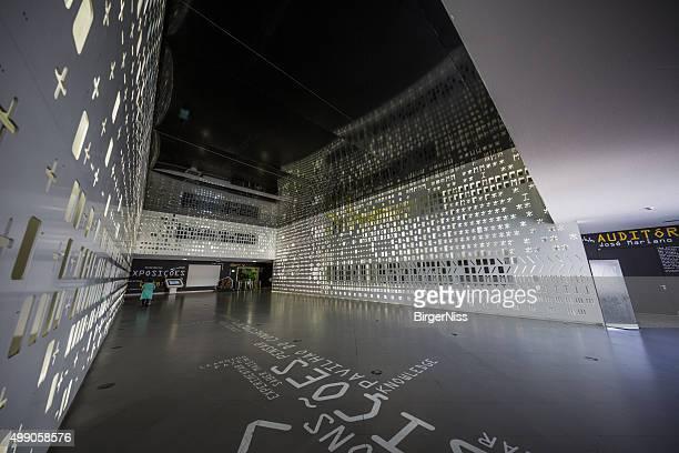 Entrance hall, Lisbon Science Museum, Portugal