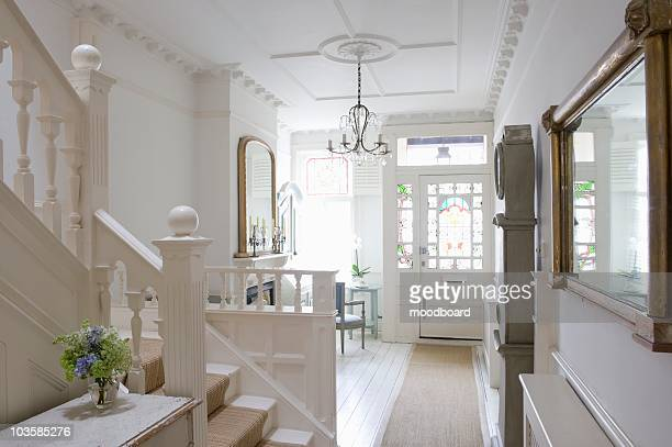 Entrance hall with ceiling rose,  London