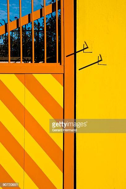 Entrance of a factory