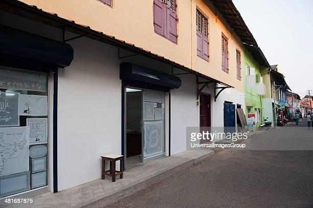 Entrance of a shop Jew Town Mattancherry Kochi Kerala India