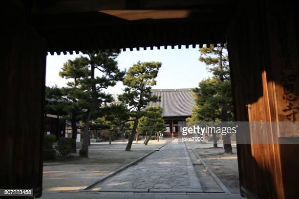智恵帝廟の入り口