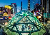 Entrance of Gangnam Subway