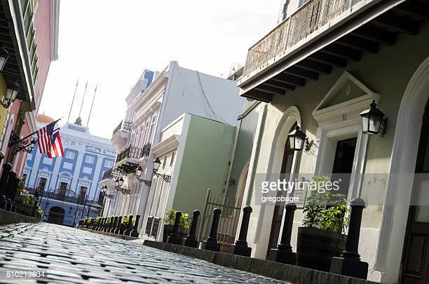 Entrance of La Fortaleza in Old San Juan, Puerto Rico