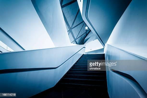 Eingang der modernen Architektur