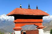 Entrance of muktinath, Nepal