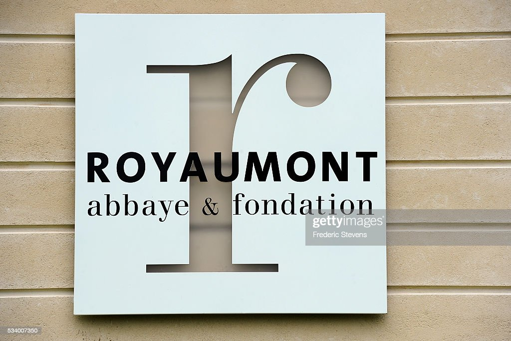 Entrance of Royaumont abbey on May 24, 2016 in Asnieres-Sur-Oise, France. The Royaumont foundation is undertaking extensive construction work to refurbish the Abbey and extend its residential facilities and is due to be finished in July 2016. The abbey's current owners, the Daudy family, are well known in France for their cultivation of artistic talent, their generous philanthropy and their visionary taste in music and dance, on one occasion inviting Pink Floyd to perform in the grounds in 1971.