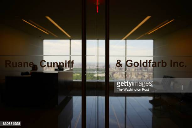 Entrance of Ruane Cunniff Goldfarb Inc on W 57 street in New York NY June 9 2017 Ruane Cunniff Goldfarb is a very reputable money management firm...