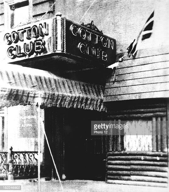 Entrance of the Cotton Club United States New York New York Schomburg Center