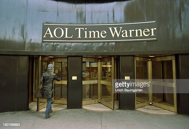 Entrance of the headoffice of AOL Time Warner Inc