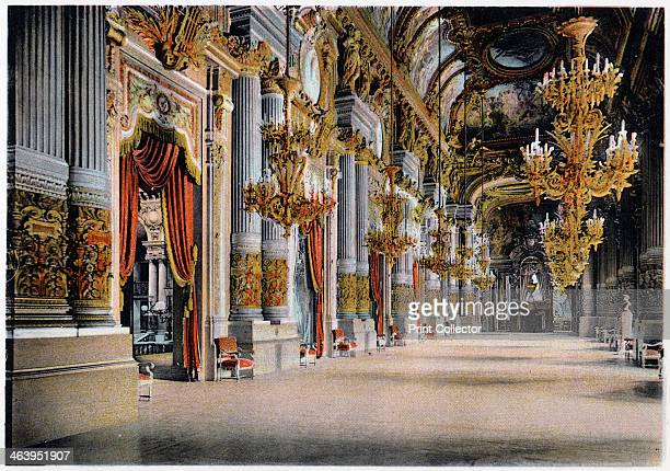 Entrance of the Palais Garnier Paris c1900 Charles Garnier's Opera House inaugurated in 1875
